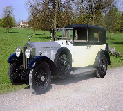 1929 Rolls Royce Phantom Sedanca in Eccleshall