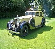 1935 Rolls Royce Phantom in St Andrews