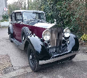 1937 Rolls Royce Phantom in Porthcawl