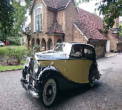 1950 Rolls Royce Silver Wraith in Farnborough
