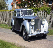 1954 Rolls Royce Silver Dawn in Edinburgh