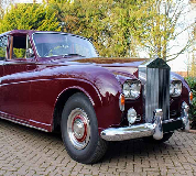 1960 Rolls Royce Phantom in Axminster