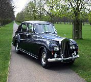 1963 Rolls Royce Phantom in Llangors