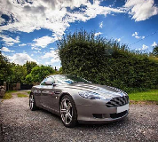 Aston Martin DB9 Hire in Shepton Mallet