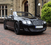 Bentley Continental Hire in Wimborne Minster