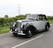 Bentley MK VI Hire in Barnard Castle