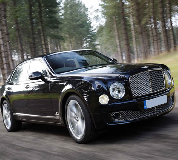 Bentley Mulsanne in Tywyn
