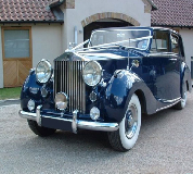 Blue Baron - Rolls Royce Silver Wraith Hire in Wigtown