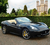 Ferrari California Hire in North Camp