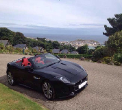Jaguar F Type Hire in Alford