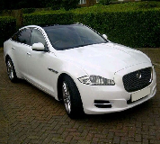 Jaguar XJL in Llangors