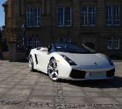 Lamborghini Gallardo Hire in North Camp