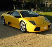 Lamborghini Murcielago Hire in Overton on Dee