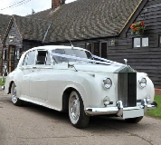 Marquees - Rolls Royce Silver Cloud Hire in Eastwood