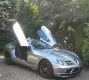 Mercedes Mclaren SLR Hire in Colyton