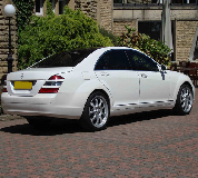 Mercedes S Class Hire in Burntisland