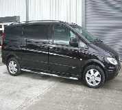 Mercedes Viano Hire in Highcliffe