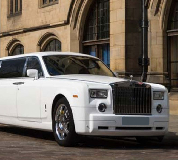 Rolls Royce Phantom Limo in Tiverton