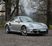 Porsche 911 Turbo Hire in Market Deeping