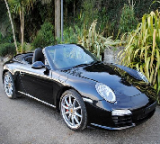 Porsche Carrera S Convertible Hire in Carlton