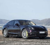 Porsche Panamera Hire in Cowbridge