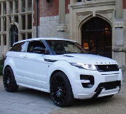 Range Rover Evoque Hire in Benllech