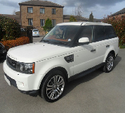 Range Rover HSE Sport Hire in Banbridge