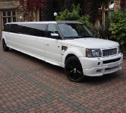 Range Rover Limo in Troon