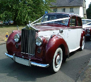 Regal Lady - Rolls Royce Silver Dawn Hire in Hawarden