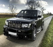 Revere Range Rover Hire in Portlethen
