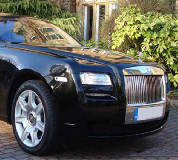 Rolls Royce Ghost - Black Hire in Wroxham