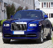 Rolls Royce Ghost - Blue Hire in Llanwrtyd Wells