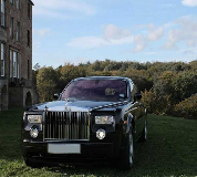 Rolls Royce Phantom - Black Hire in Letham