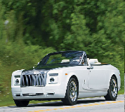 Rolls Royce Phantom Drophead Coupe Hire in Alford