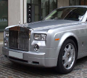 Rolls Royce Phantom - Silver Hire in Denton