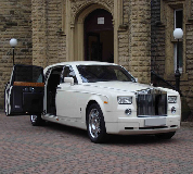 Rolls Royce Phantom Hire in Wolsingham