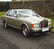 Rolls Royce Silver Spirit Hire in Staveley