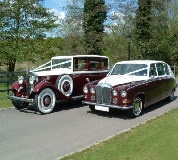 Ruby Baroness - Daimler Hire in Cleobury Mortimer