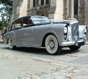 Silver Lady - Bentley Hire in Buckie