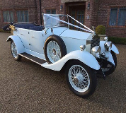 1927 Vintage Soft Top Rolls Royce in Troon
